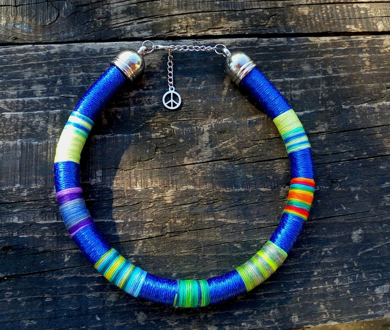 African Jewelry for Her African Necklaces Rope Choker Aztec Necklace African Necklaces African Necklace Modern Choker Tribal Necklace