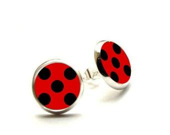 Miraculous Ladybug Earrings - Hypoallergenic Nickel Free Earrings
