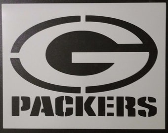 graphic about Green Bay Packers Printable Logo called Packers stencil Etsy