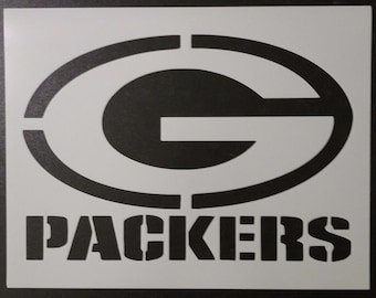 image about Green Bay Packers Printable Logo named Packers stencil Etsy