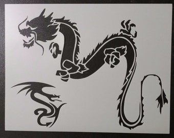Dragons Chinese Dragon Custom Stencil FAST FREE SHIPPING