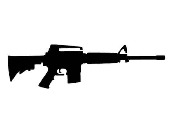 """Crossed Rifles Rifle Guns 11/"""" x 8.5/"""" Custom Stencil FAST FREE SHIPPING"""
