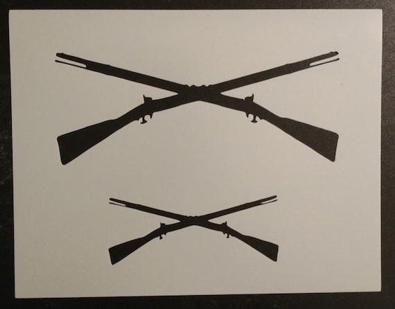Soldier Men Rifles Stencil Multiple Sizes FAST FREE SHIPPING 586