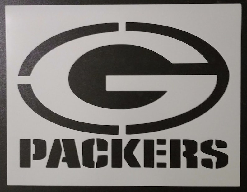 Green Bay Packers Custom Stencil FAST FREE SHIPPING  416aaa203
