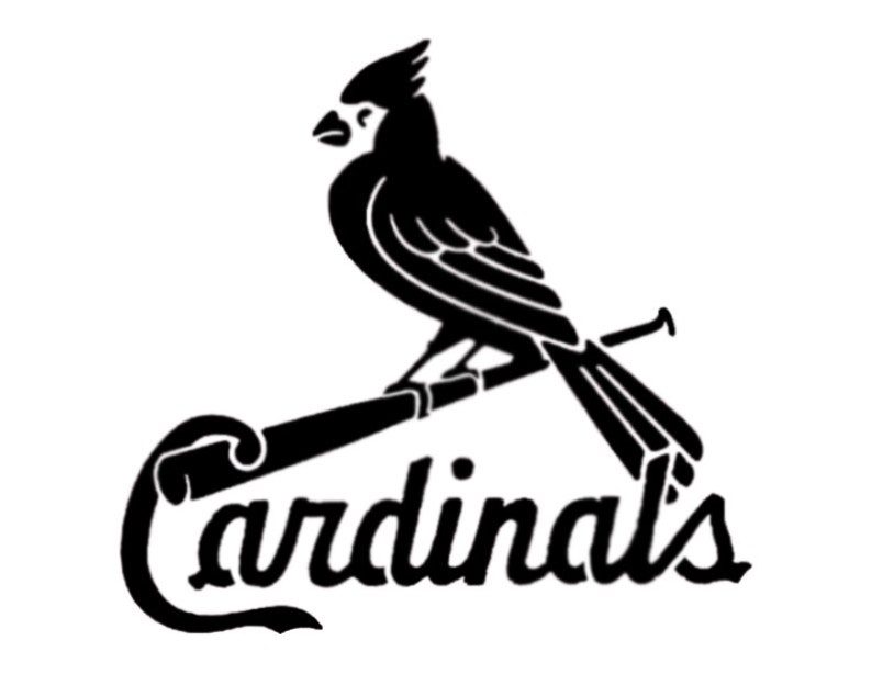 eef49641 St. Louis Cardinals Custom Stencil FAST FREE SHIPPING