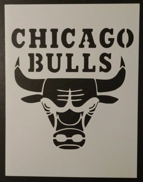 "Chicago Blackhawks 8.5/"" x 11/"" Custom Stencil FAST FREE SHIPPING"