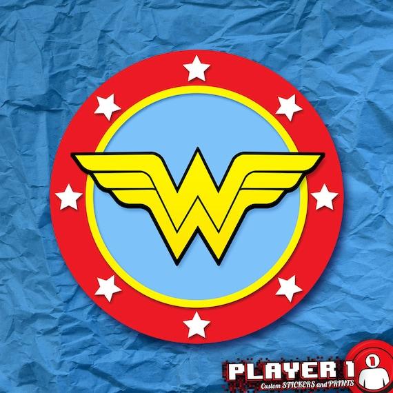 Wonder Woman Wonder Symbol Sticker