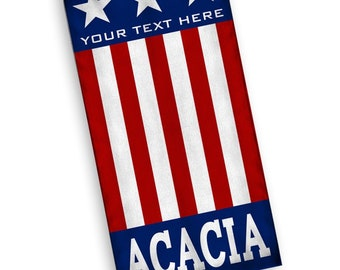 ACACIA USA Flag Towel