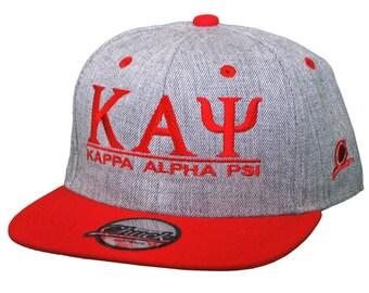 eb5c7b61d4f8c Kappa Alpha Psi Snapback Flatbill Cap