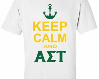 Alpha Sigma Tau Keep Calm T-Shirts