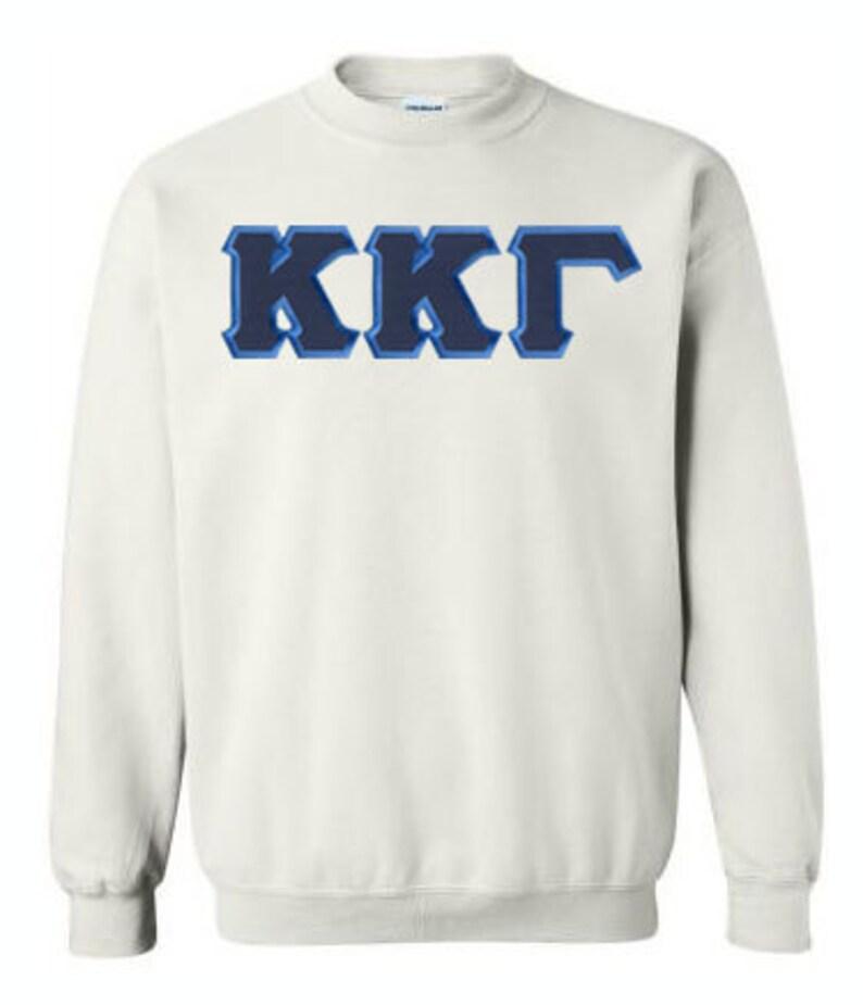 e7d44742db0b Kappa Kappa Gamma Lettered Crewneck Sweatshirt