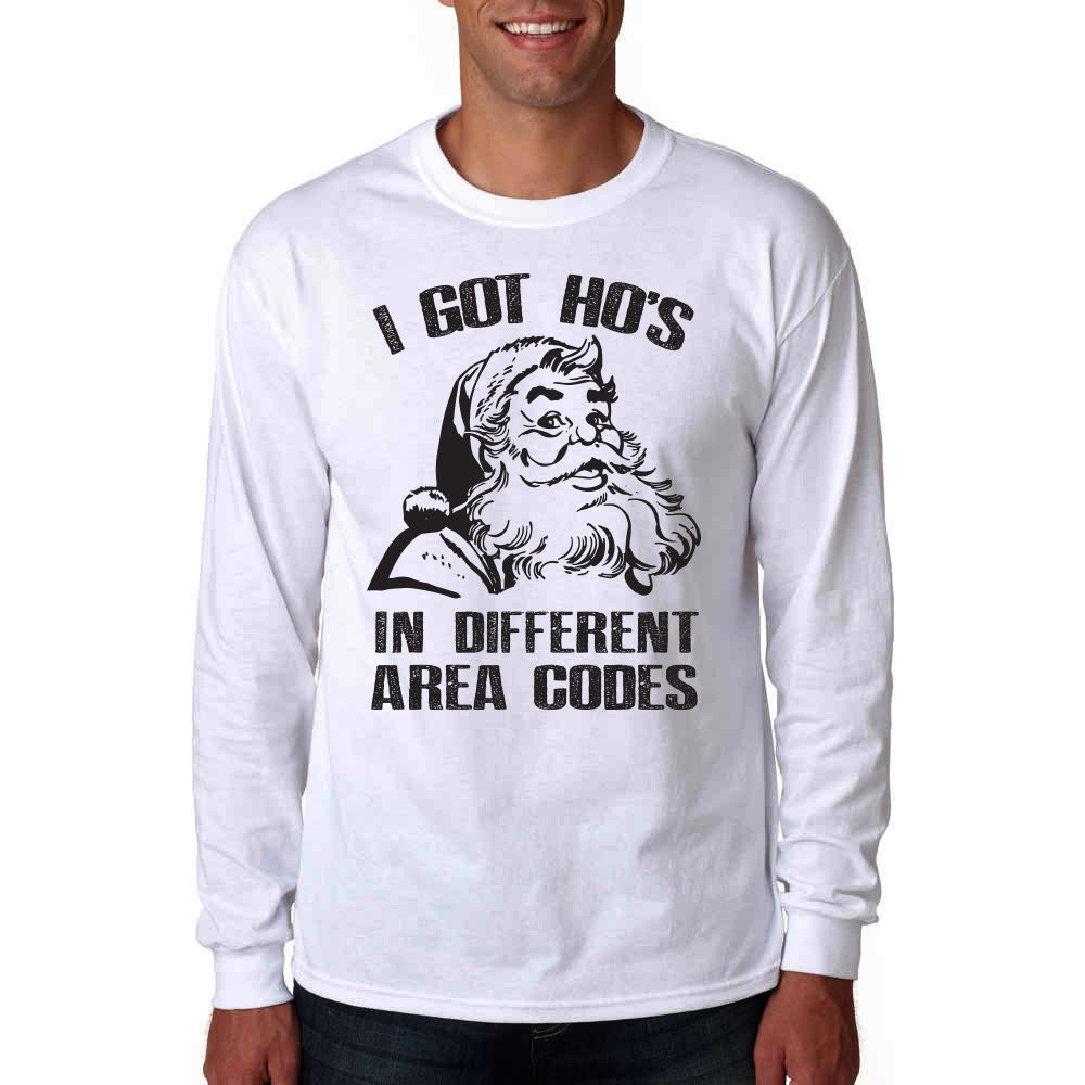 I Got Hos In Different Area Codes Long Sleeve Shirt Funny   Etsy