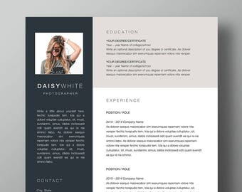Daisy Resume And Cover Letter Template