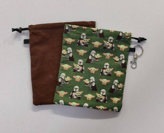 Star Wars Storage Bags drawstring multi pockets personalize it