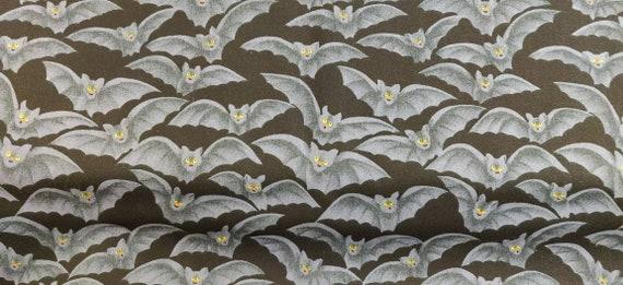 Halloween Bats cotton fabric Ships SAME BUSINESS DAY!