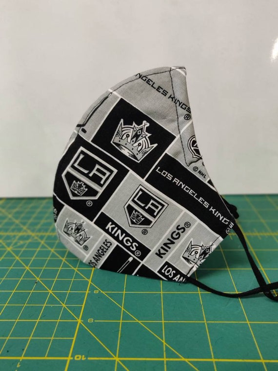 Sports Teams Hockey Football Baseball Face Mask 100% cotton washable adjustable elastic ear loops Kids Teens Adult MADE in the USA