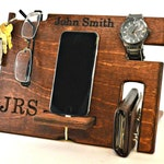 Christmas gift, Student Gift, Personalized mens gifts, Christmas gifts, Gifts for Boyfriend, Wood Docking Station, Gifts for men, Coworkers