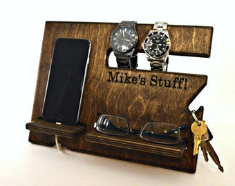 Charging Station, Docking Station, Iphone Docking, Dock Station, Wood Docking Station, Docking Station Men, Iphone Station