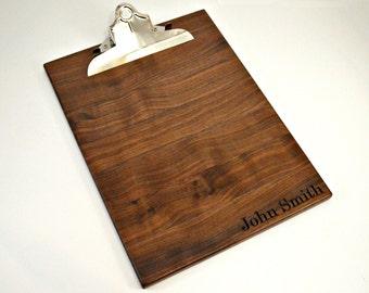 Clip Board, Wood Clipboards, Desk Organization, Clipboard Wood, Clipboard, Wooden Clipboards, Birthday gift
