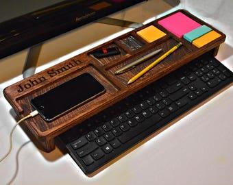 Desk Tray, Wooden Desk Tray, Wood Desk Tray, Wooden Organizer, Wood Organizer, Desk Organizer, Desk Organizer Wood, Organizer Tray