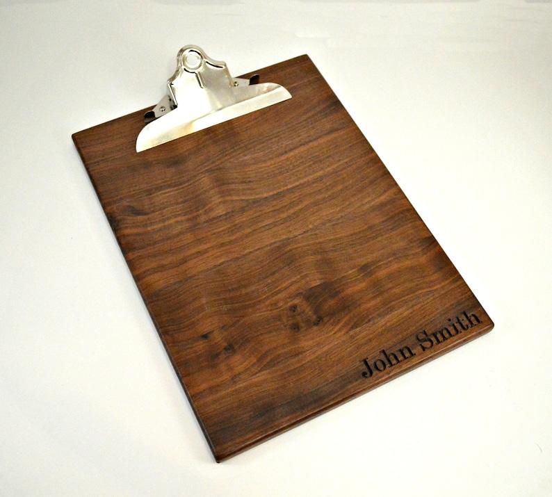 Wooden Clipboard Clipboard Wood Clipboard Clipboards image 1