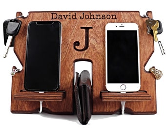 Dual Docking Station, Multiple Device Charging Station, Double Docking Station, Twin Phone Charger