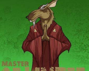 Master Splinter poster