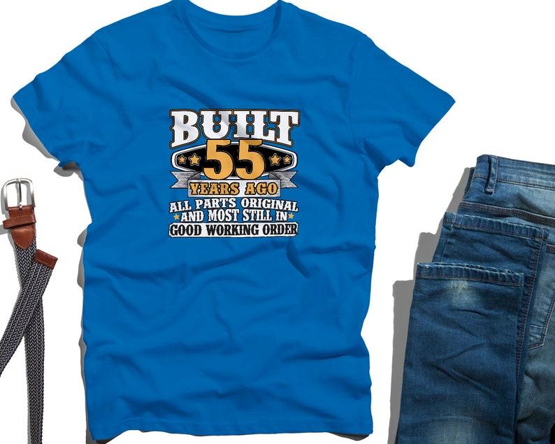 094e61168c7 55th Birthday Gift 55th Birthday Shirt 55th bday 55th birthday