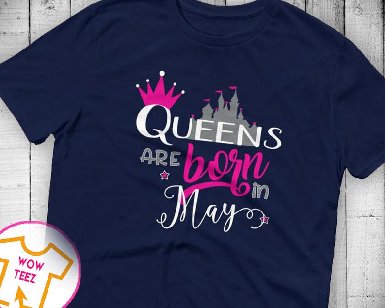 53636ab8c May Shirt Queen Shirt Queens Born May Born in May May Birthday | Etsy