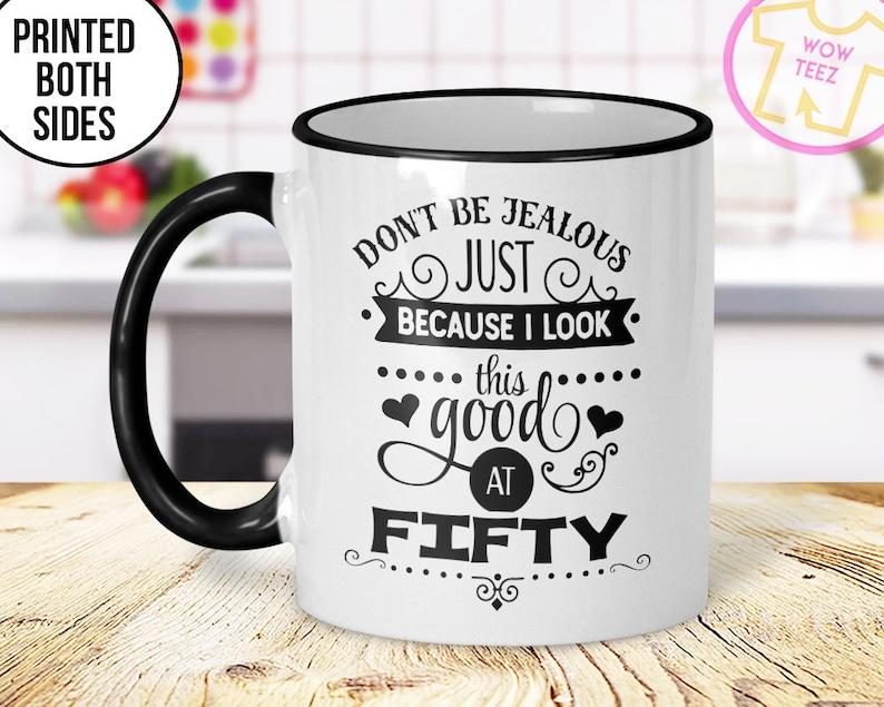 5d964a27f14 50th Mug 50th Birthday Mug 50th Gift Idea 50th Birthday Gift