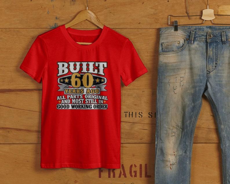 74daf15aeb9 60th Birthday Gift 60th Birthday Shirt 60th bday 60th birthday