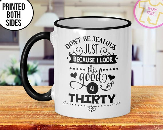 30th Mug Birthday Gift Idea