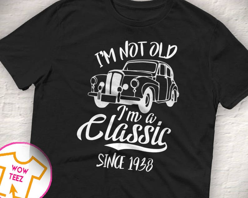 Classic Since 1938 80th Birthday Shirt Bday
