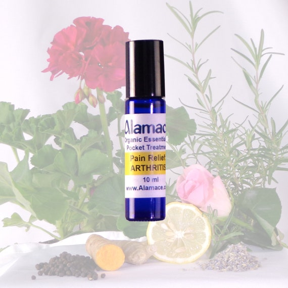 Arthritis Pain: Pocket Treatment, Organic essential oil pocket therapy for joint pain, arthritis and rheumatism