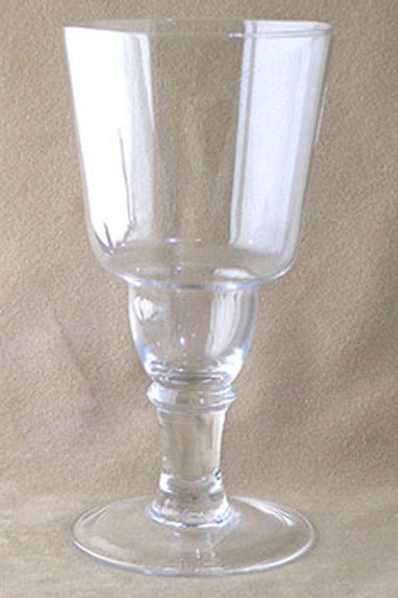 Absinthe Jura Glass, Replica absinthe glass, absinthe dose glass, absinthe louche glass, absinthe serving glass, Jura French glass