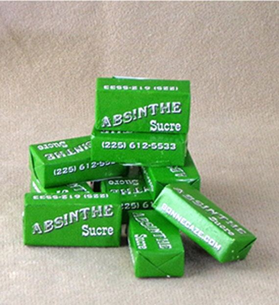 Absinthe Sugar, sugar for the Absinthe Ritual, easy melt sugar for Absinthe, sugar for diluting Absinthe