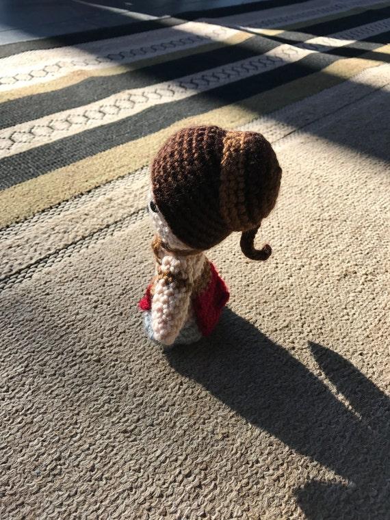 Star Wars Slave Leia Hair Bun Holders /& Braid Ornament set costume prop replica