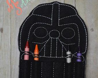 Dark One Crayon Holder