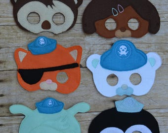 Deluxe Octofriends Masks adult/child options