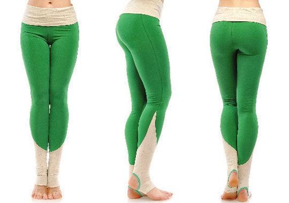 d97d79f88816c9 Yogahose mit Gamaschen Yoga Hose Frauen Baumwoll-Leggings | Etsy