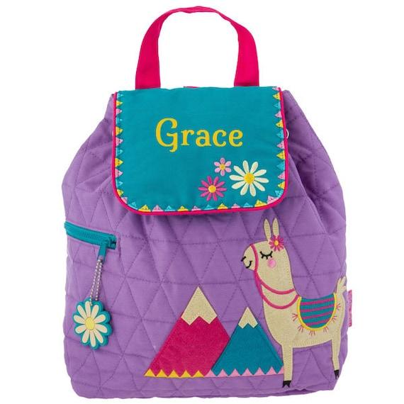 3c8ac0bbea9f Personalised Children s Backpacks Llama Stephen Joseph