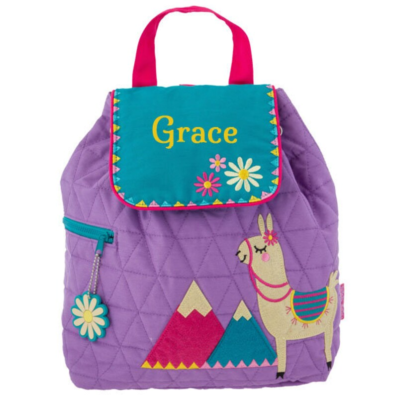 Personalised Children's Backpacks Llama Stephen