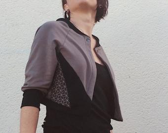 Bolero sweater geometric 2018