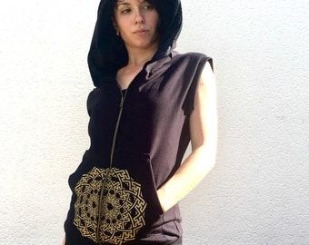 Jacket sleeveless Sayagata 100% handmade by myself