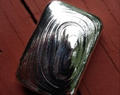 2.00 Try Ounce Hand Poured Silver Bar Silver Bullion No Scrap .999 Silver 2015 Investment Grade Silver Bar