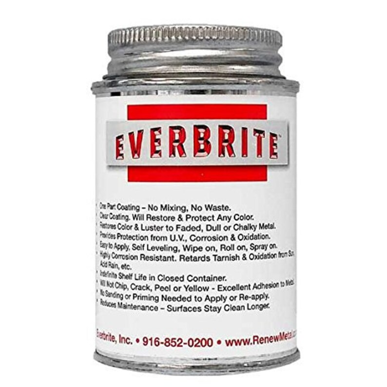 Protective Metal Coating by Ever Brite Metal Sealant Metal Clearcoat Metal  Protector-Prevent Metal Tarnish