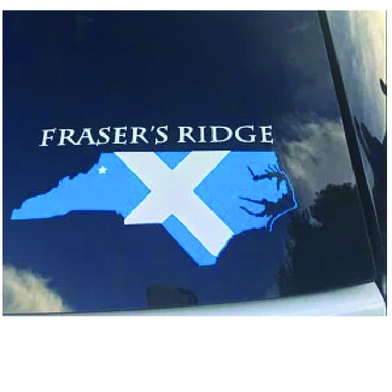 Fraser Ridge Nc Map.North Carolina Map Showing The Location Of Fraser S Ridge Etsy