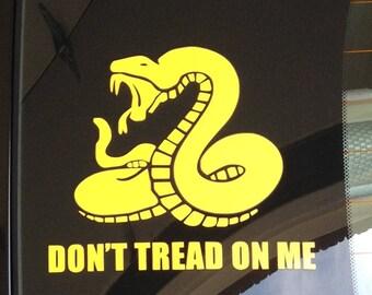 Don't Tread on Me