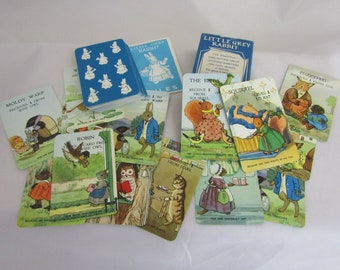 Little Grey Rabbit Vintage childrens card game by Pepys games of London Features characters by Alison Uttley and drawn by Margaret Tempest