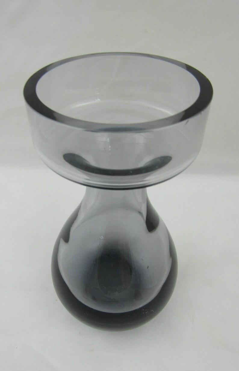 Honey Wedgwood Blue Art Glass Vase Designed By Ronald Stennett Willson Pottery, Porcelain & Glass